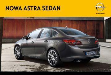 Nowa Astra Sedan - Nowe oblicze Astry - Opel Polska