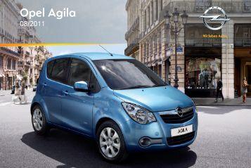 Manual Opel Agila 2012