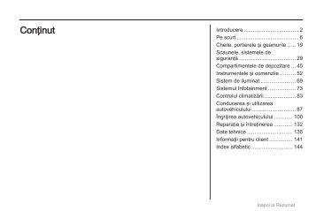 Manual (model year: 10.0) - Opel