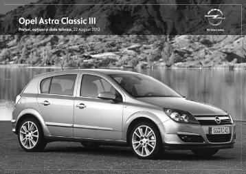 Astra Classic III Caravan - Opel