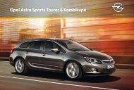 Opel Astra Sports Tourer & Kombikupé