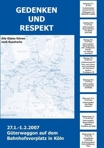 """""""Gedenken und Respekt"""" der Austellung - OPEN MEMORY"""