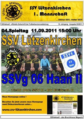 SSV Lützenkirchen SV DITIB Solingen