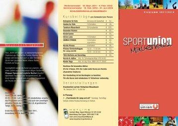 Sportunion Folder