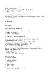 Amedeo Santosuosso - Floriana Colao. POLITICI E ... - Ristretti.it