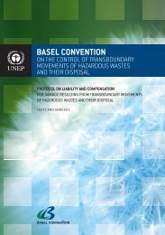 Basel Convention on the Control of Transboundary Movements