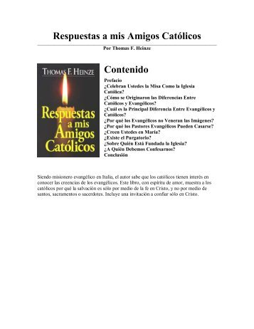 respuestas a mis amigos catolicos.pdf - Cristianos