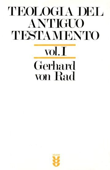 teología del antiguo testamento - OpenDrive