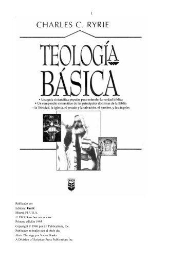 TEOLOGIA-BASICA Charles C Ryre