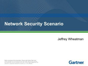 Network Security Scenario - The Open Group