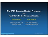Application Software - The Open Group