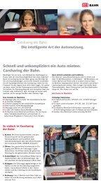 Schnell und unkompliziert ein Auto mieten ... - Deutsche Bahn  AG