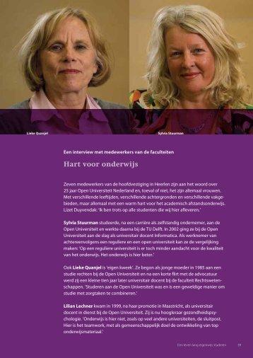 Hart voor onderwijs - Open Universiteit Nederland