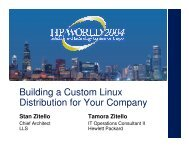 Building a Custom Linux Distribution for Your Company - OpenMPE