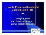 How to Prepare a Successful Data Migration Plan - OpenMPE
