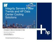 Power Trends for High-Performance Enterprise Servers ... - OpenMPE