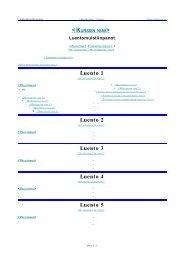 Luento 1 Luento 2 Luento 3 Luento 4 Luento 5 - OpenOffice.org