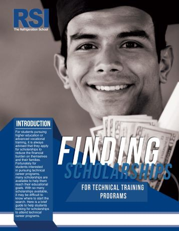 White Paper: Finding Scholarships for Technical Training Programs