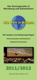 Broschüre 2012.indd - Die Welt in Bilderen
