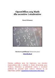 OpenOffice.org Math dla uczniów i studentów