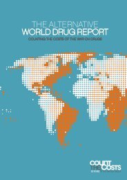 the aLternatiVe WorLD Drug rePort - Open Society Foundations