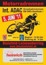 5. JUNI '11 - des DMSC Bielefeld eV im ADAC
