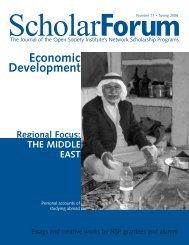 Economic Development - Open Society Foundations