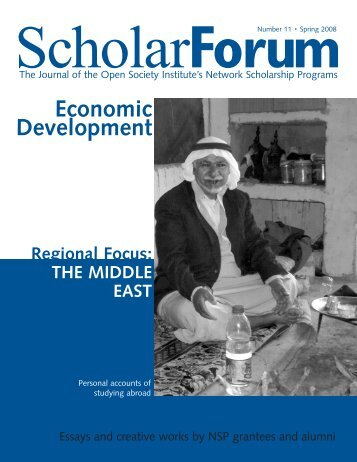 Economic Development - Open Society Foundations
