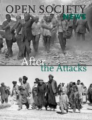 After the Attacks - Open Society Foundations