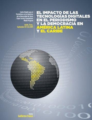El impacto dE las tEcnologías digitalEs - Knight Center for ...