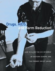 Drugs, AIDS, and Harm Reduction: How to Slow the HIV Epidemic in ...