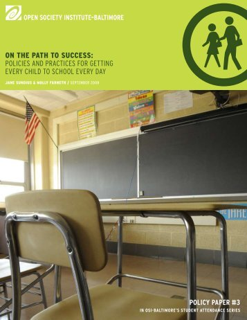 on the path to success - Open Society Foundations