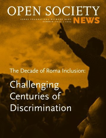 The Decade of Roma Inclusion - Open Society Foundations