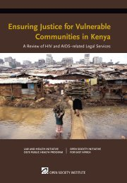 Ensuring Justice for Vulnerable Communities in Kenya: A ... - Kelin