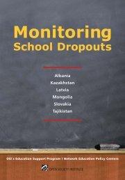Monitoring school dropouts (EN, 2007) - ERI SEE