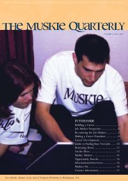 Muskie Quarterly: Fall 2003 - Open Society Foundations