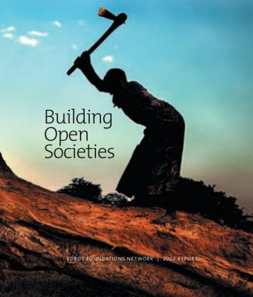 Building Open Societies - Sggwrites.com