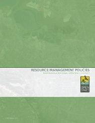 resource management policies - Midpeninsula Regional Open ...