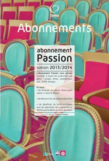 Téléchargez le formulaire d'abonnement Passion sous format pdf