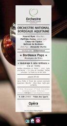 Téléchargez le programme de salle - Opéra de Bordeaux
