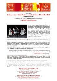 Bordeaux – Casino Théâtre Barrière – Jeudi 12 et Vendredi 13 Avril ...