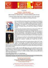 Bordeaux – Palais des sports Vendredi 9 Mars & Jeudi 14 Juin 2012 ...