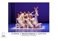 LE MESSIE // Mauricio Wainrot // JUIN 2010 - Opéra de Bordeaux