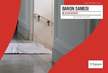 BARON SAMEDI - Opéra de Lille