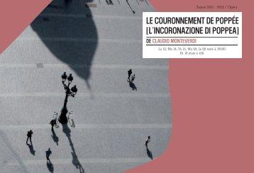 Couronnement de Poppée | PDF - Opéra de Lille