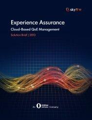 Experience Assurance - Opera