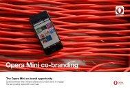 Opera Mini co-branding