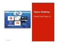 Opera Desktop