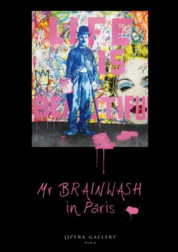Mr BRAINWASH in Paris - Opera Gallery