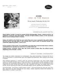 Download press kit - Opera Gallery